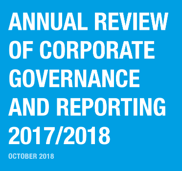 Annual Review of Corporate Governance and Reporting 2017/2018