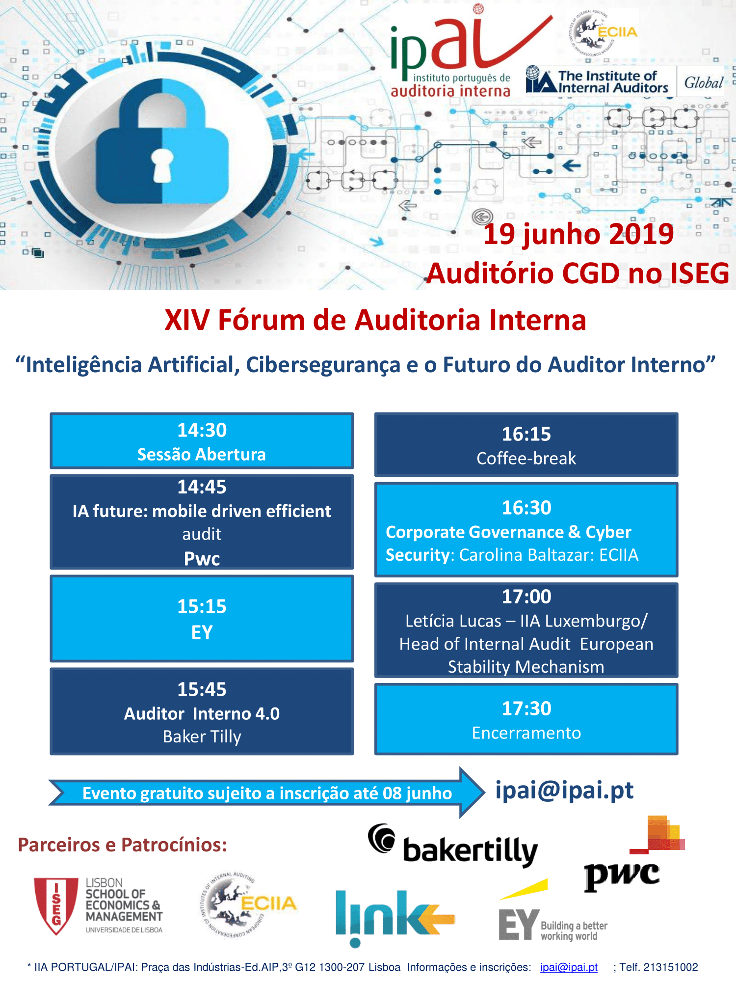 XIV Fórum Auditoria Interna 2019